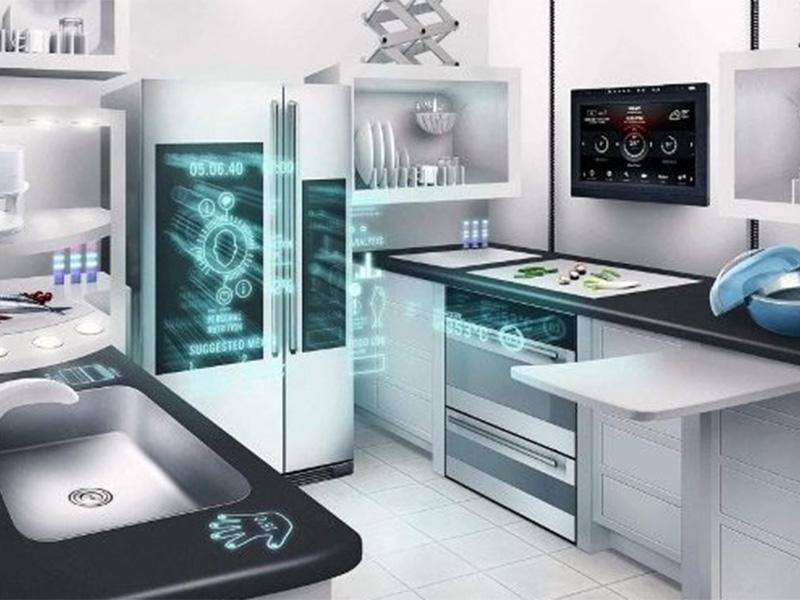 آشپزخانه ساختمان هوشمند