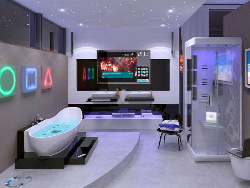 حمام ساختمان هوشمند