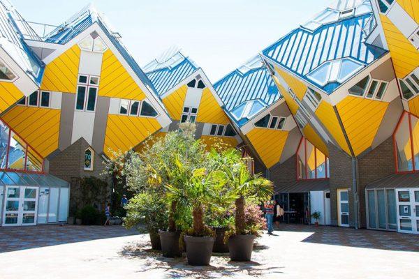 خانههای مکعبی، روتردام هلند