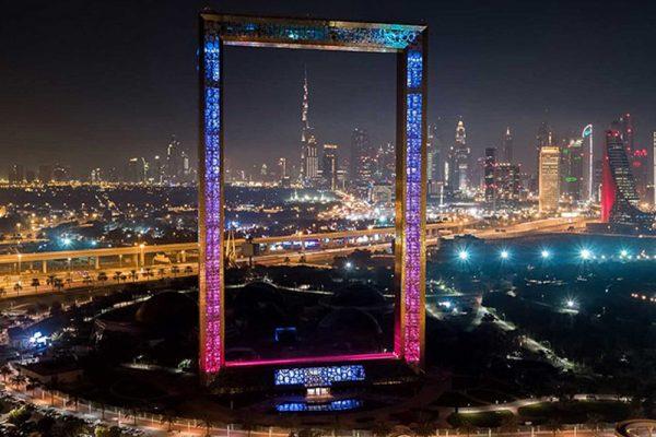 ساختمان قاب دبی