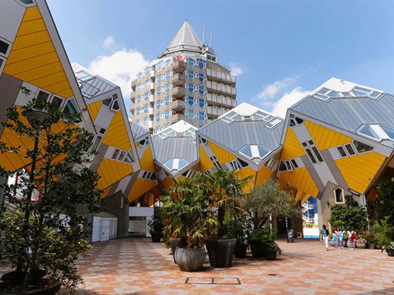 عجیب ترین سازه های معماری دنیا