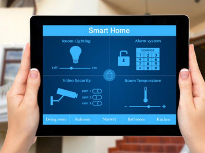 ورود به منزل ساختمان هوشمند