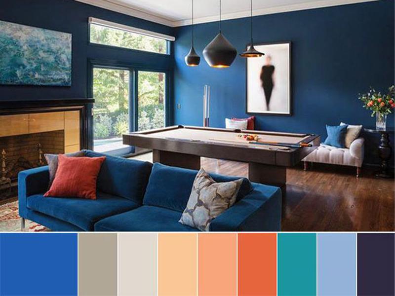 رنگ در دکوراسیون داخلی مدرن