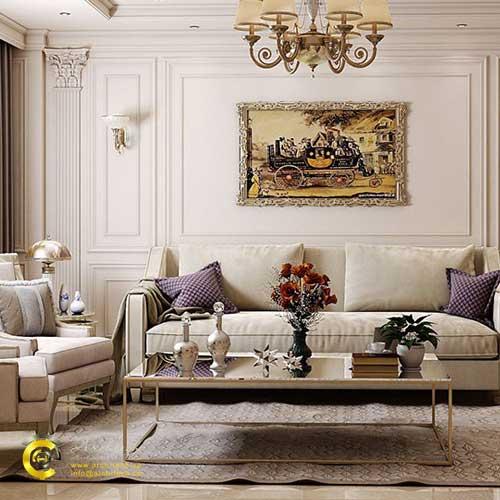 دکوراسیون داخلی منزل به سبک کلاسیک